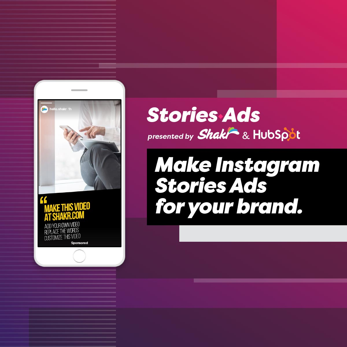 StoriesAds - Make Instagram Stories Ads